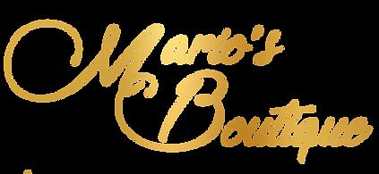 Marios boutique letra.png