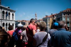 Little Kiss in Venice