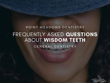 FAQ with Wisdom Teeth Removal