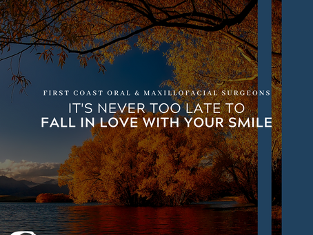 It's never too late to fall back in love with your smile!