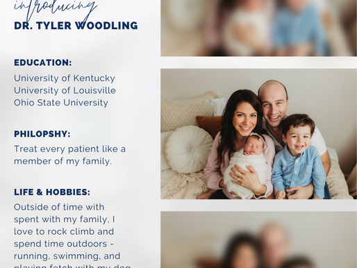 Introducing Tyler Woodling, DMD, MD | Oral Surgery | Jacksonville, FL