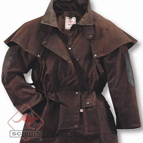 Scippis Dritec Oilskin Drover Jacket