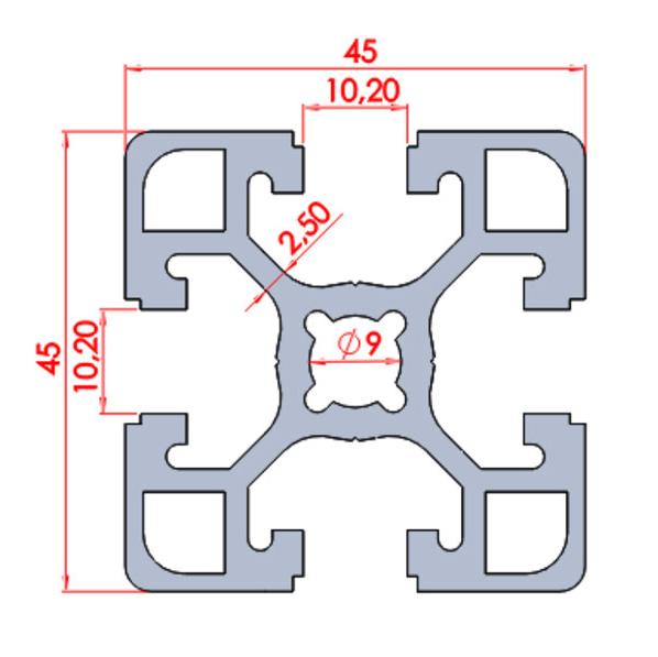 45x45 Ağır Sigma Profil ölçüleri.png