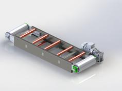 Mini Çelik Gövdeli Konveyör Bant Tasarımı