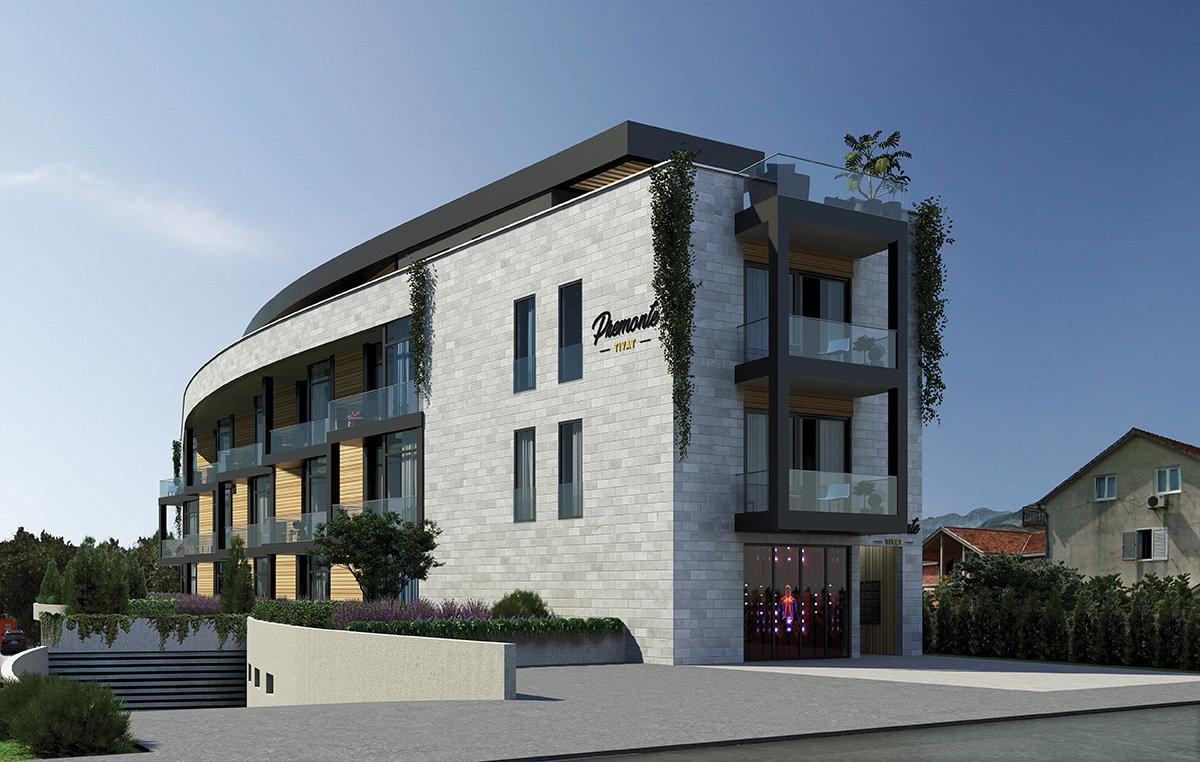 شقة بمدينة تيفات   الجبل الأسود
