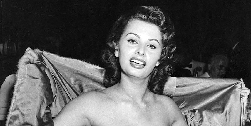 Sofia Loren الممثلة صوفيا لورين