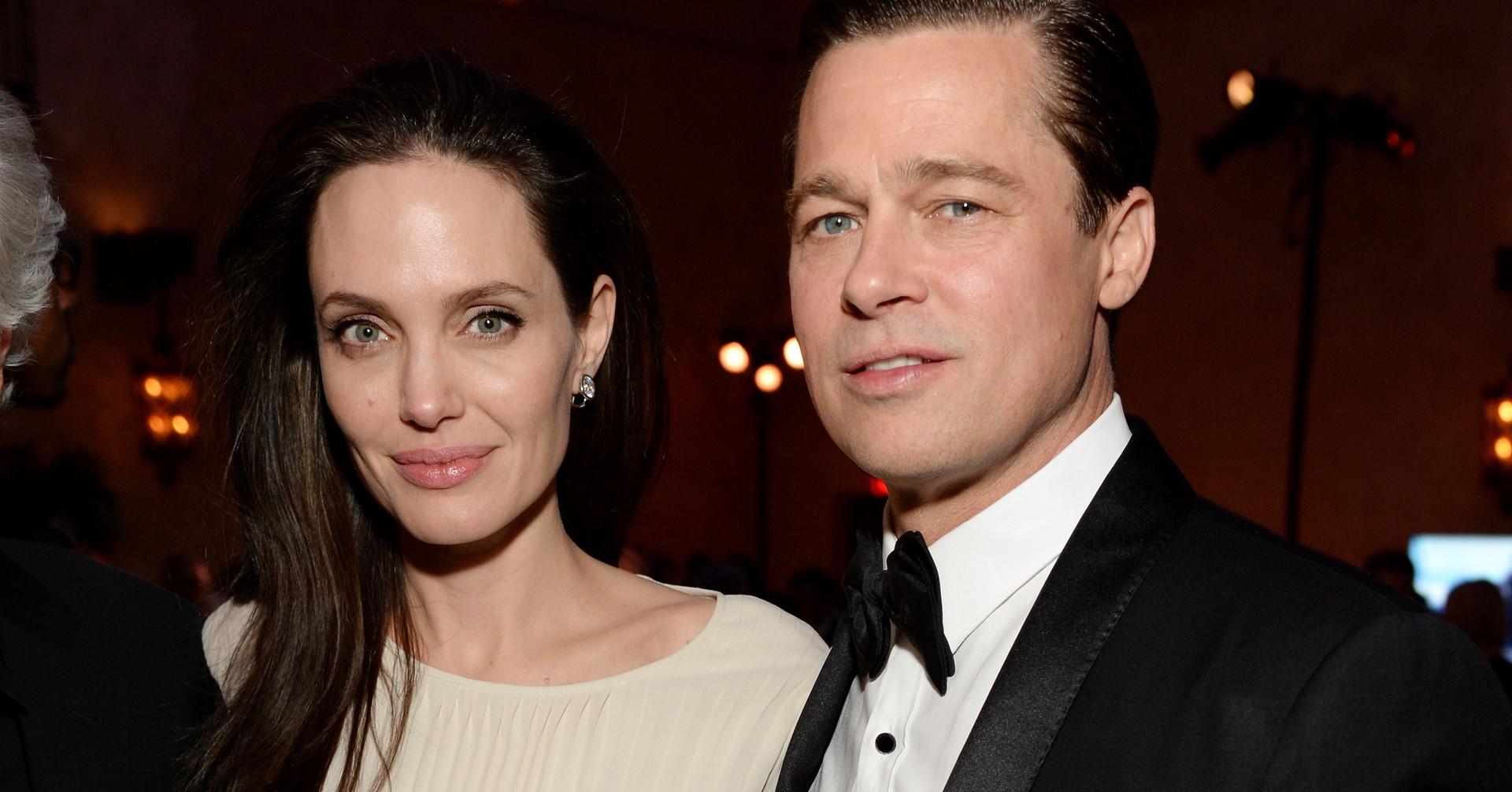 Brad Pitt and Angelina Jolie براد بيت وانجلينا جولي