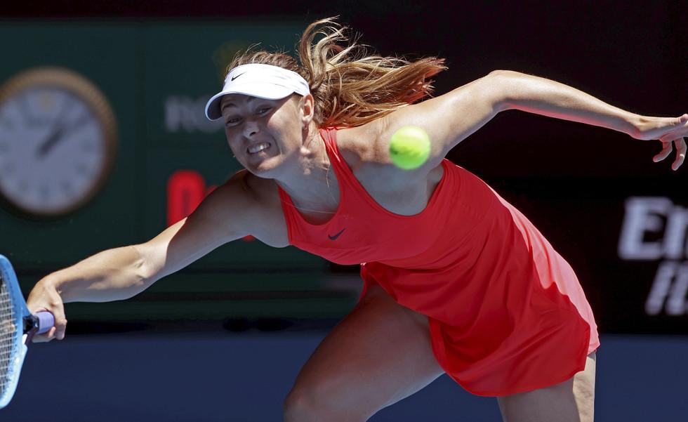 Tennis star Maria Sharapova لاعبة التنس ماريا شارابوفا