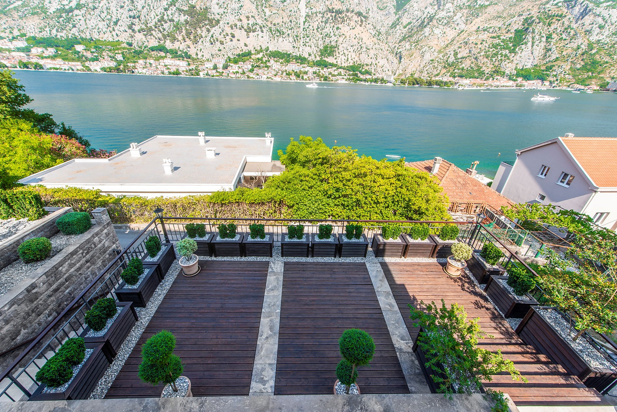 Villa with Bay of Kotor view