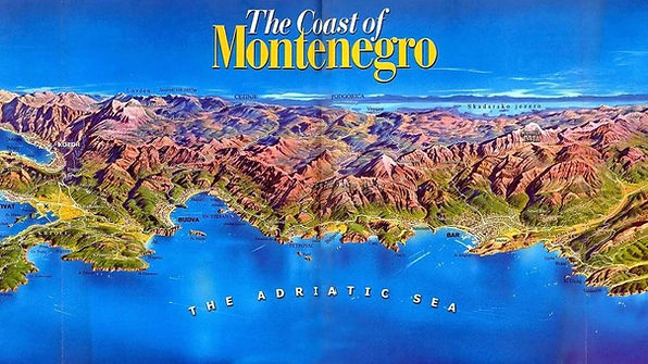 The coast of Montenegro | الجبل الاسود
