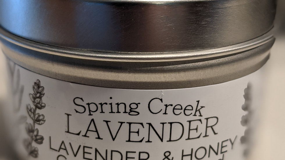 Lavender and Balsam Berry Tin Candle