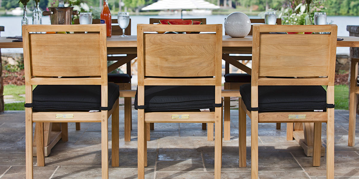 Summer Classics Malta Dining Chair and Dining Table