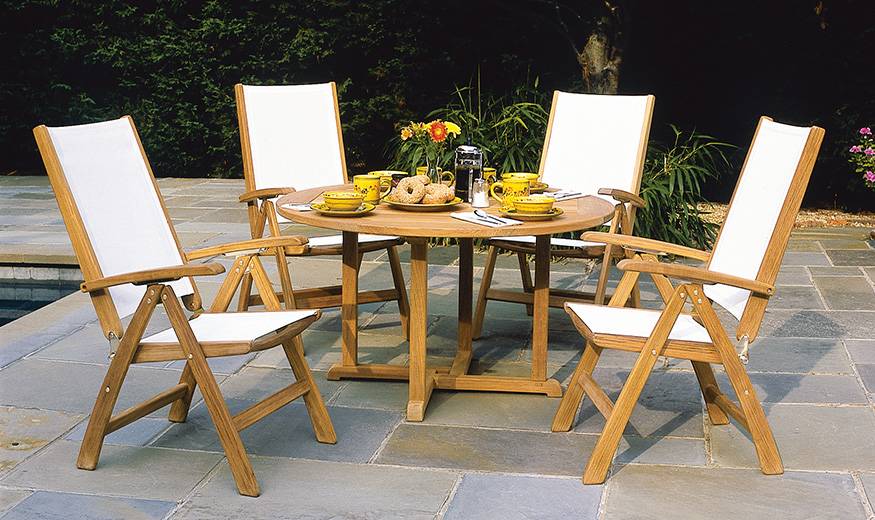 Kingsley Bate St Tropez Folding Dining Chairs