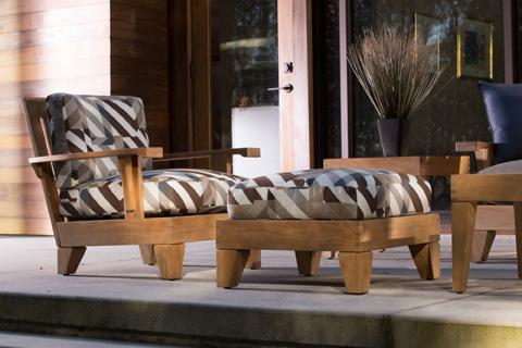 lane venture saranac lounge chair and ottoman