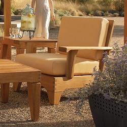 lane venture saranac lounge chair and coffee table