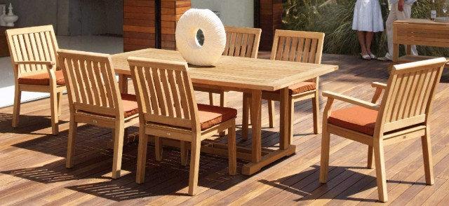 Kingsley Bate Chelsea Dining Set