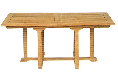 Gloster, Brown Jordan, Kingsley Bate, Barlow, Rectangular Extension Large Teak Table