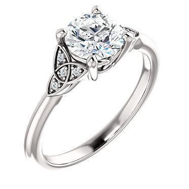 Celtic Inspired Engagement ring