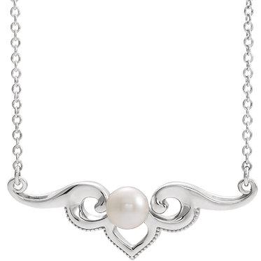 Pearl Bar Pendant