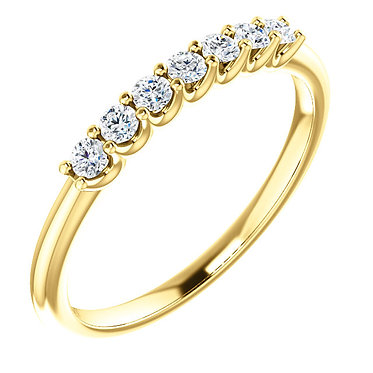 7 Stone Wedding Ring