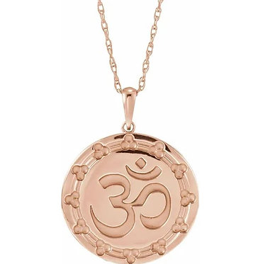 14k Ohm necklace