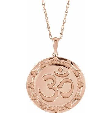 14k Ohm necklace