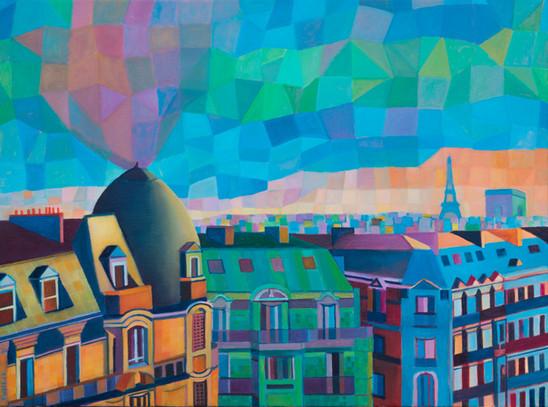 REFLECTION OF PARIS #2