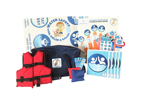 Water Safety w/Colin & Friends Curriculum - Standard (8 & under) w/Spanish