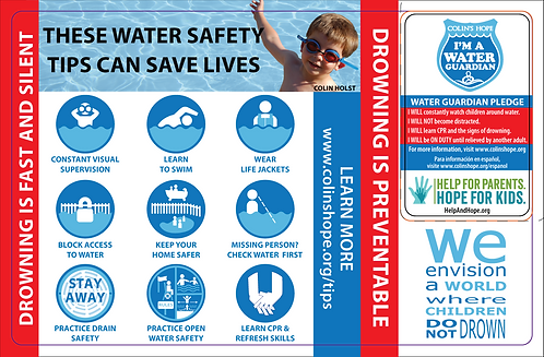 DFPS PEI Water Safety Cards
