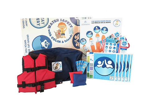 Water Safety w/Colin & Friends Curriculum - Deluxe Edition w/Spanish Add-on