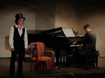 Anne Emmanuelle Abrassart et Gilles Nicolas . Musset Sand Chopin