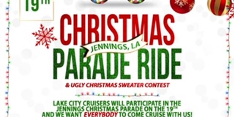 Jennings Christmas Parade Ride