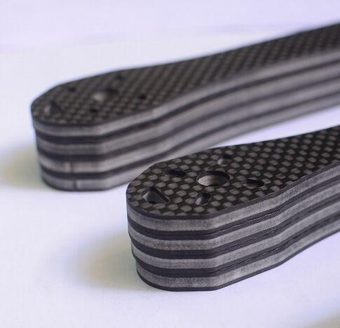 carbon fiber sandwich panel