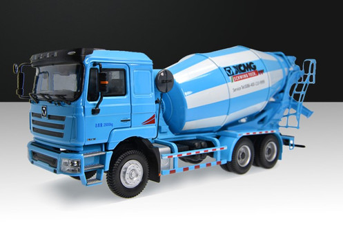 1/35 Scale Model XCMG Hanvan Heavy Truck Schwing Concrete Mixer Truck