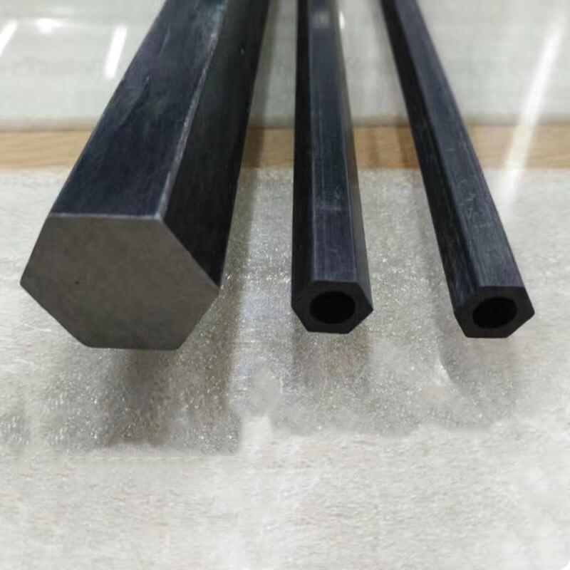 Carbon Fiber Hexagonal Rod and Hexagonal