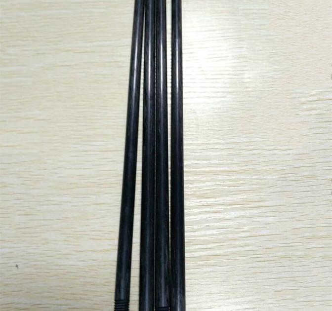 CNC cutting process thread carbon fiber