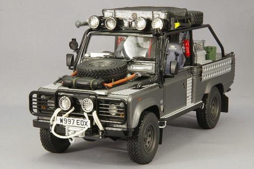 Kyosho Land Rover Defender Movie Edition Tomb Raider Lara Croft Model Car 1 18