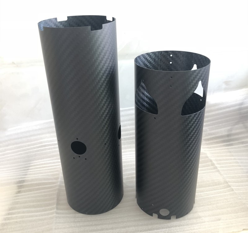 CNC Cutting Carbon FIber Tube