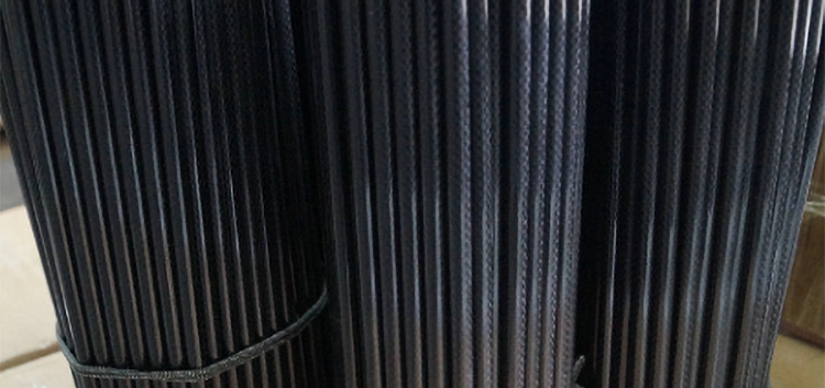 3K twill/plain weave carbon fiber rods