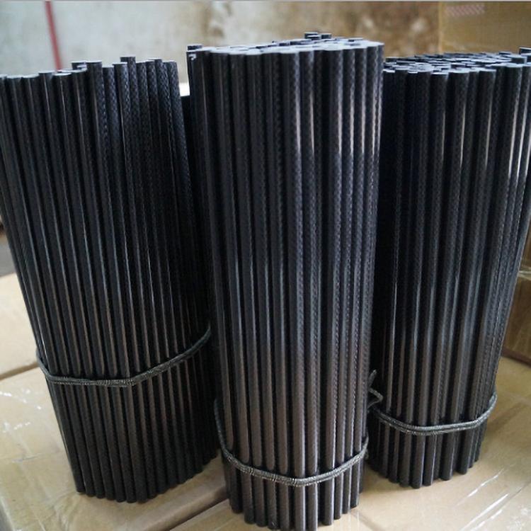 3K twill/plain weave carbon fiber rods