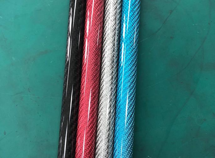 different color carbon fiber colored car