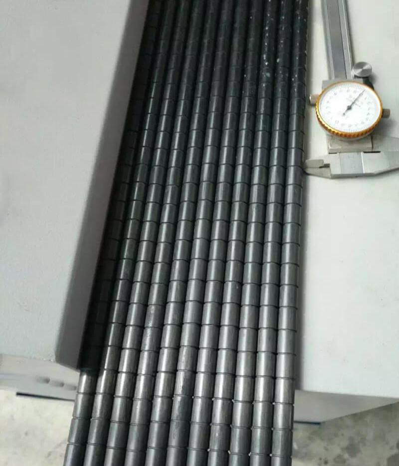 CNC cutting process slotting thread carb