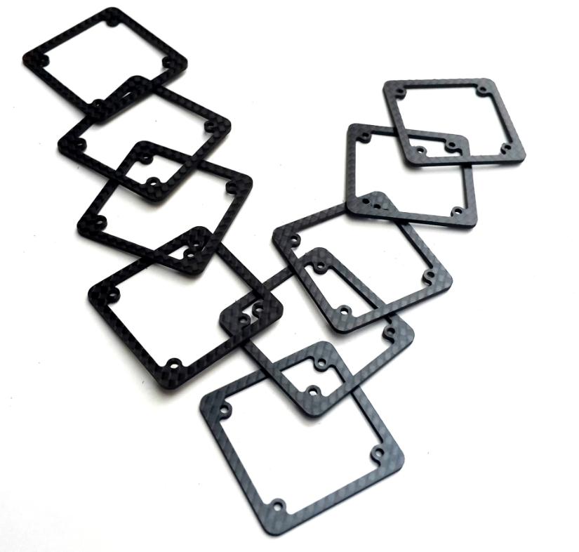 CNC cutting carbon fiber parts