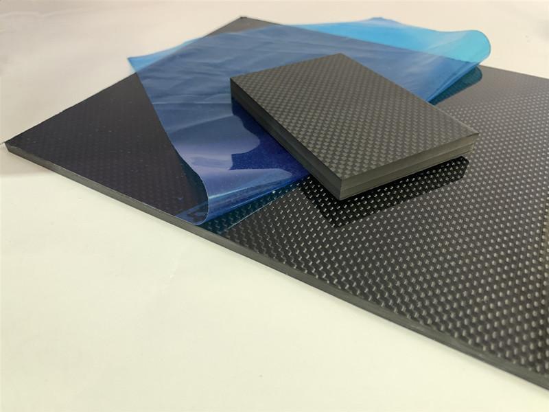 5mm 10mm carbon fiber plate glossy/twill