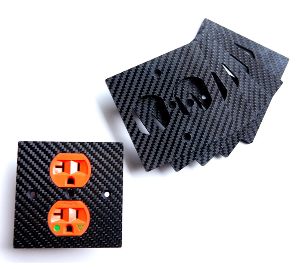 CNC cutting carbon fiber plate