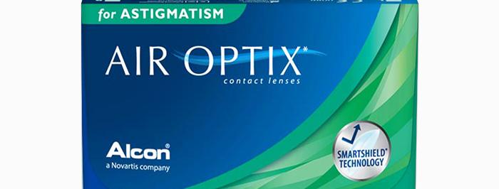 Air Optix ასტიგმატიზმისთვის (+) {6 ცალი}