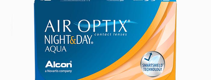 AIR OPTIX® Night & Day - ერთთვიანი კონტაქტური ლინზა