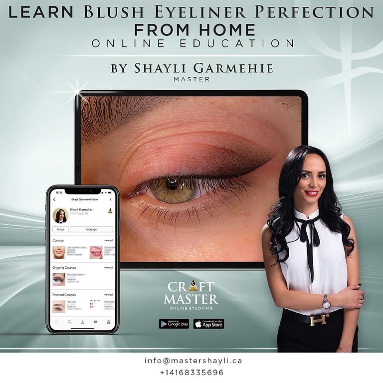 Eyeliner Blush Perfection Online Training