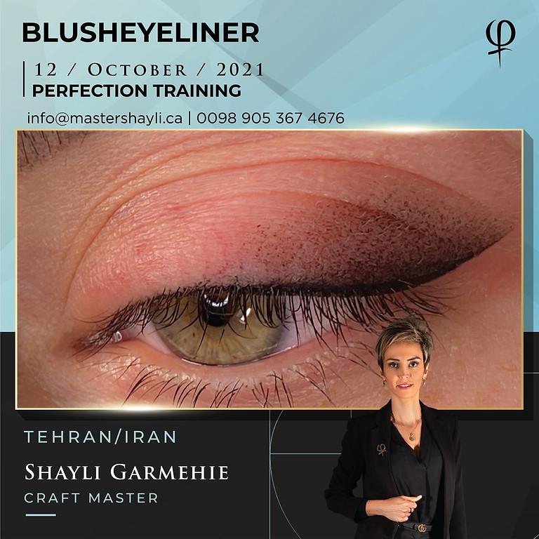 Blush Eyeliner Perfection Workshop Tehran