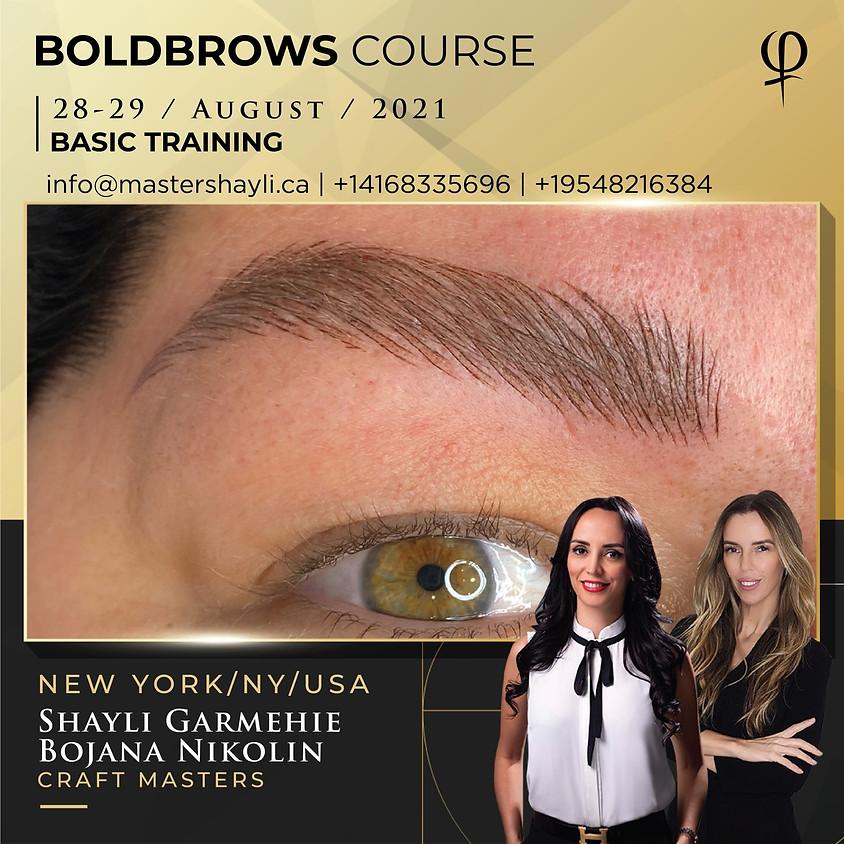 Boldbrows workshop New York, USA